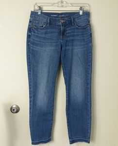 Old Navy Straight / Droit Mid-Rise Jeans 2